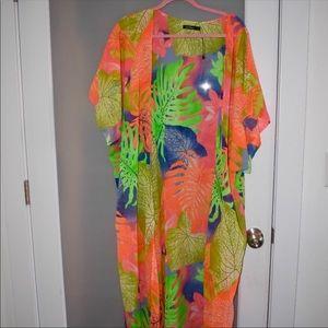 BooHoo Lucy tropical kimono
